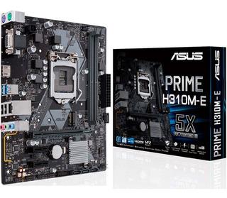 Motherboard 1151 Prime H310m-e Tarjeta Madre Asus Ddr4