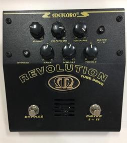 Pedal Valvulado Meteoro Revolution - Overdrive E Distortion