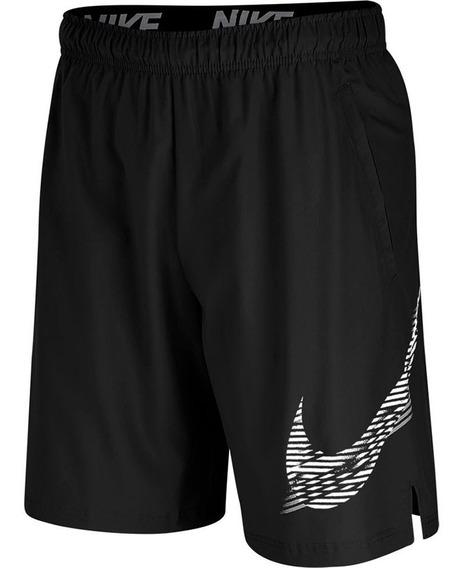 Short Nike Flex 2.0 Cj1977-010 Negro-hombre