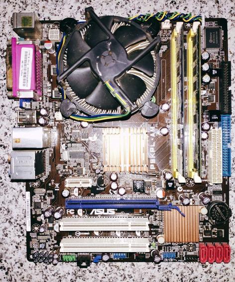 Kit Pc 775 Pentium Dual Core, 4gb De Memória Ram Ddr2