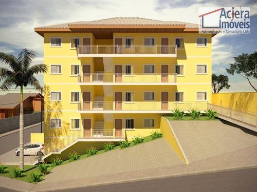 Imagem 1 de 29 de Apartamento Com 2 Dormitórios À Venda, 42 M² - Jardim São Miguel - Cotia/sp - Ap0449