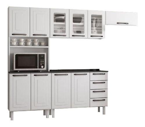 Cozinha Completa Colormaq Titanium 04 Peças Em Aço - Branco