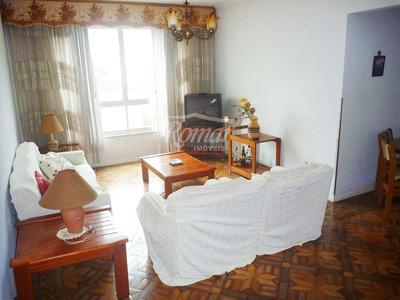 Apartamento Com 3 Dorms, Boqueirão, Santos - R$ 390 Mil, Cod: 465 - V465