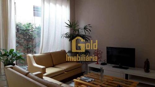 Casa Com 3 Dormitórios Para Alugar, 175 M² Por R$ 2.700,00/mês - Jardim Macedo - Ribeirão Preto/sp - Ca0962