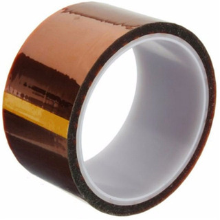 Rollo De Cinta Kapton 50mm Adherencia Cama Impresora 3d
