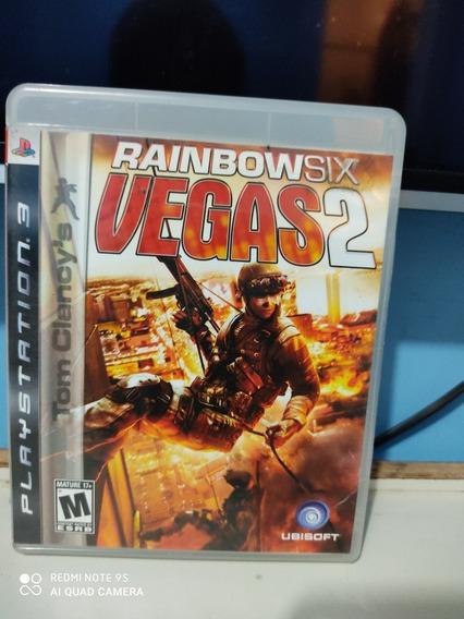 Jogo Tom Clancys Raimbowsix Vegas 2 Para Ps3