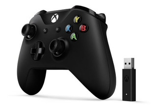 Joystick Xbox One Wireless + Adaptador Para Pc Win 10 Ctas