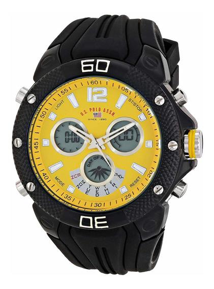 Relógio U.s. Polo Assn.masculino Homem Esporte Analog-digita