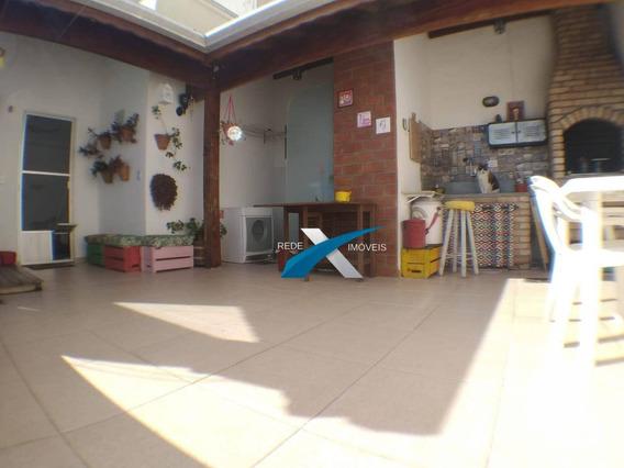 Cobertura Sapzio Mileto Com 3 Dormitórios À Venda, 90 M² Por R$ 365.000 - Alto Ipiranga - Mogi Das Cruzes/sp - Ad0043