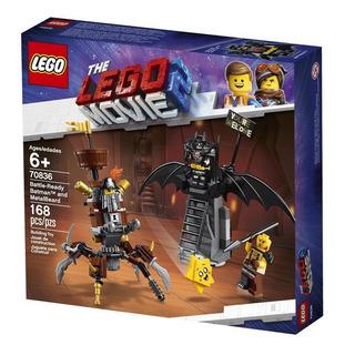 Lego 70836 Batman Y Barba Metálica Listos Para La Batalla