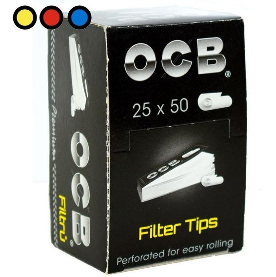 Filtros Ocb Cartón Regular X 25