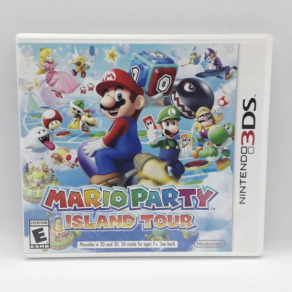Mario Party Island Tour Nintendo 3ds Midia Fisica Jogo Game