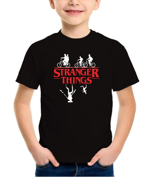 Remera Stranger Things Niños Serie Netflix Rebel Label