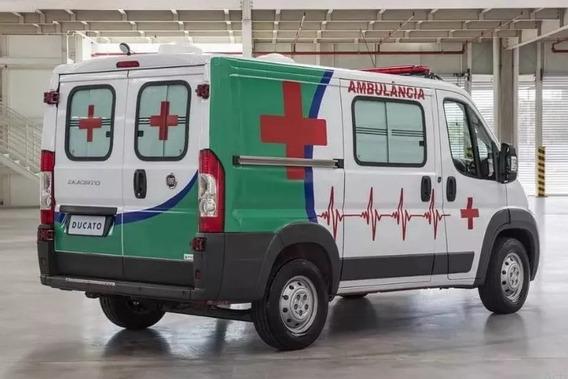 Ducato Ambulancia 0km Entrega Inm $1.200.000 Gastos Bonif X-