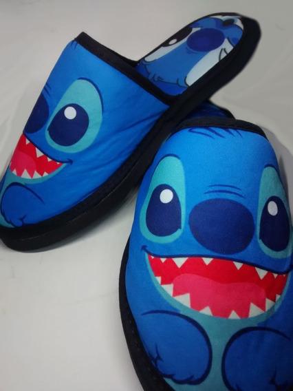 Pantuflas Lilo Y Stitch Disney(leer P Frec.foto3) En 6cuotas