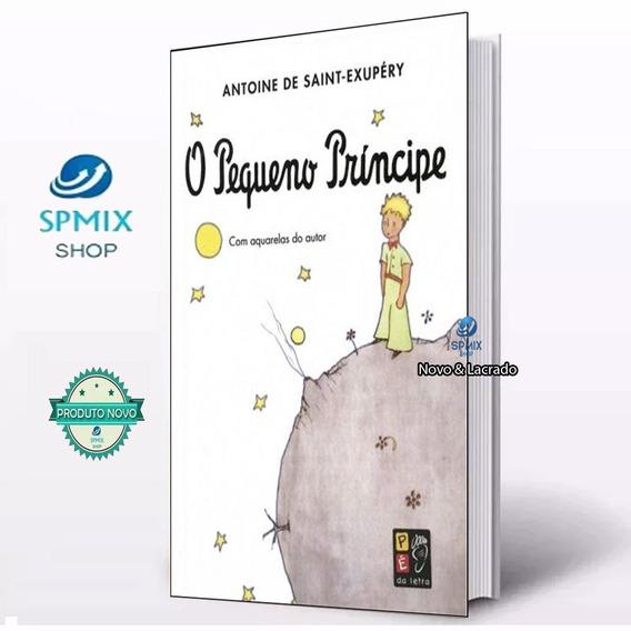 Livro O Pequeno Príncipe - 141 Pags - 16x23 Cm Novo Lacrado
