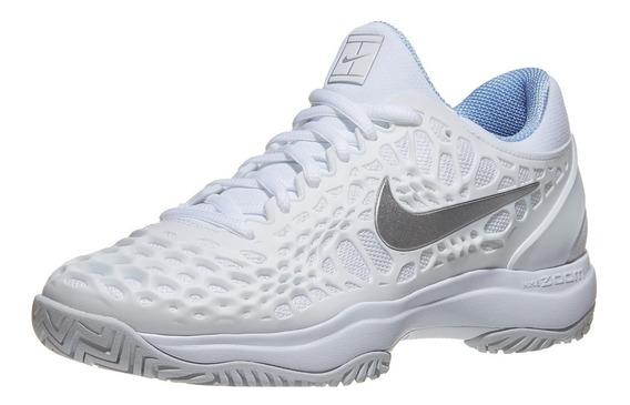Tenis Nike Zoom Cage Nadal Blanco Para Dama Federer 2019