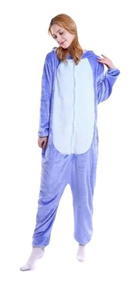 Lilo & Stitch Pijama Kigurumi Mameluco Cosplay Moda Japonesa
