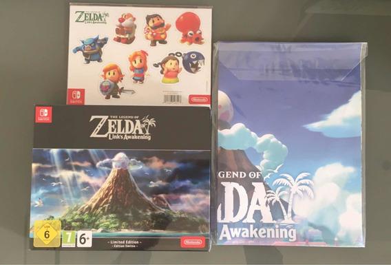 Zelda Link Awakening Limited Edition Novo + Pre-order Bonus