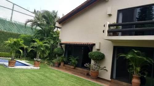 Casa En Privada En Lomas Del Mirador / Cuernavaca - Amr-387-cp