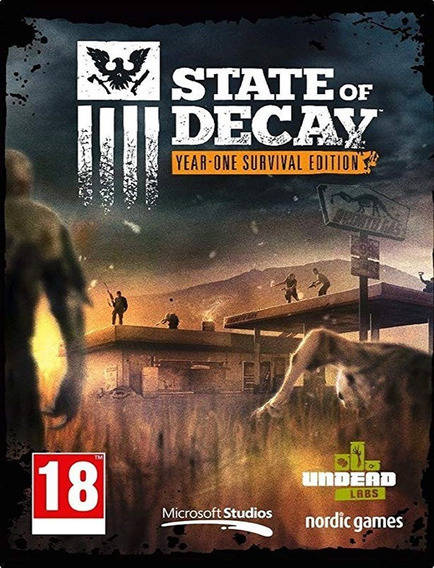 State Of Decay Year One Survival Pc - Steam Key (envio Já)