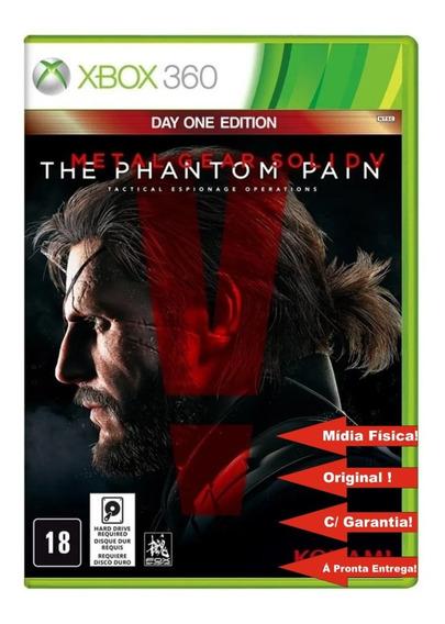 Metal Gear Solid V The Phantom Pain Jogo Xbox 360 Original