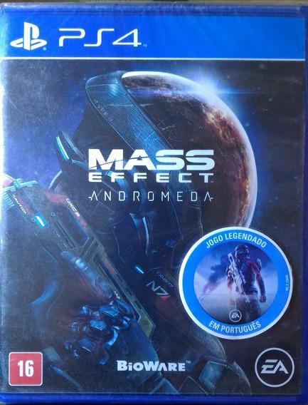 Ps4 Mass Effect Andromeda Novo Lacrado Midia Fisica Leg Ptbr