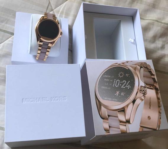 Relógio Michael Kors Acess Rose - Smartwatch (novinho)