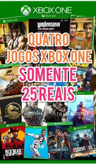 Quatro Jogos Xbox One Offiline