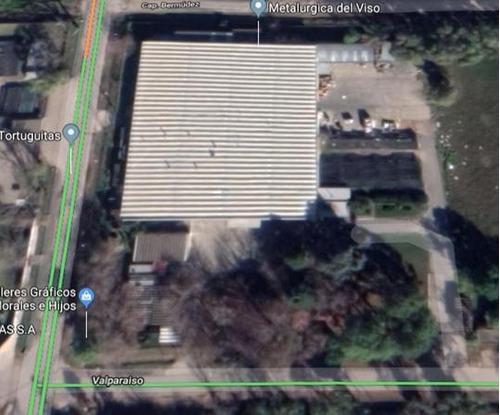 Planta Industrial 6.000 M2 Premoldeada De Hormigon - Parque Industrial Tortuguitas