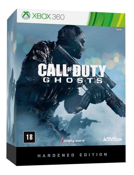 Call Of Duty Ghost Hardened Edition Xbox 360 Lacrado Novo