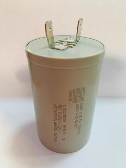 Capacitor Partida 60uf 250v Lavadora Electrolux Wap Karcher