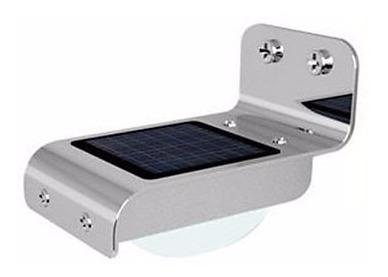 Lâmpada Solar De Parede Externa Com Sensor Pronta Entrega