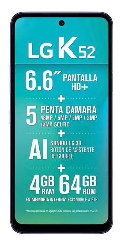 Imagen 1 de 4 de LG K52 (48 Mpx) 64 GB blue 4 GB RAM