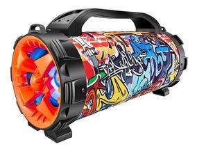 Caixa De Som Colorida Street Mco-08 Bluetooth 100w Rms Luzes