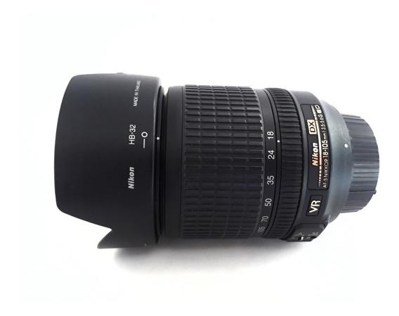 Lente Nikon - Nikkor 18-105mm F/3.5-5.6g Dx Af-s Vr Ed