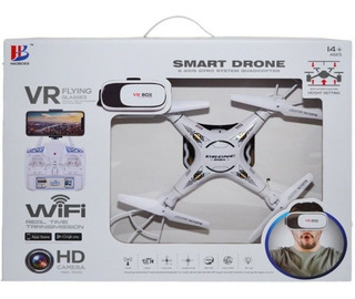 Smart Drone 6 Axis Gyro System Quadcopter Hd Lentes Pilar