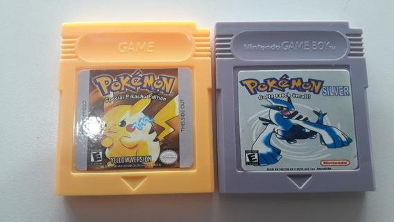 Lote Dois Cartuchos Pokemon Game Boy