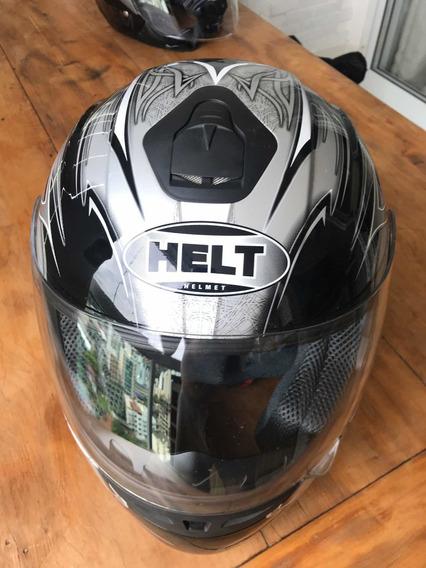 Capacete Helt Helmet Race