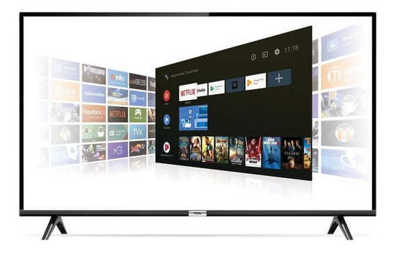 Smart Tv 43 Tcl Led Fhd 43s6500 Android 2 Hdmi 1 Usb