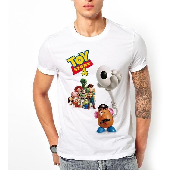 Playera Toy Story 4 Económica Cara De Papa