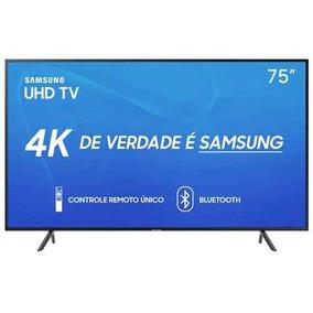 Smarttv Samsung 4k 2019 Ru7100 75 Un75ru7100gxzd