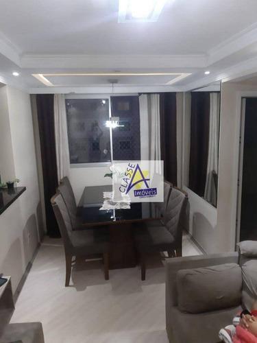 Imagem 1 de 14 de Apartamento Com 2 Dormitórios À Venda, 48 M² Por R$ 230.000 - Parque São Vicente - Mauá/sp - Ap0776