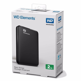 Disco Externo 2tb Wd Elements Usb 3.0 Pc Notebook Royal