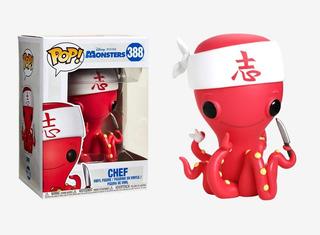 Funko Pop #388 Monsters Inc - Chef