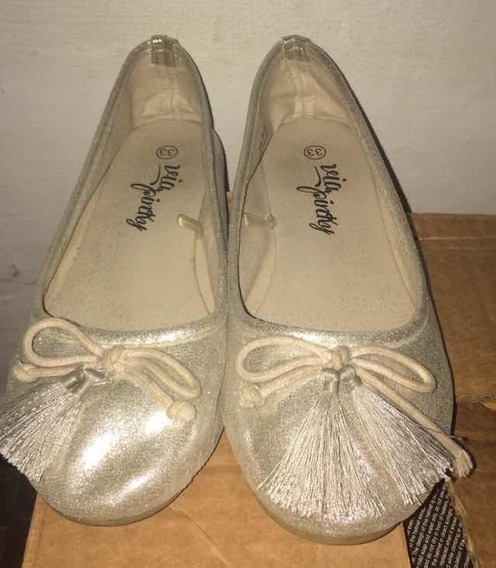 Zapatos De Niña Talla 33 Oferta