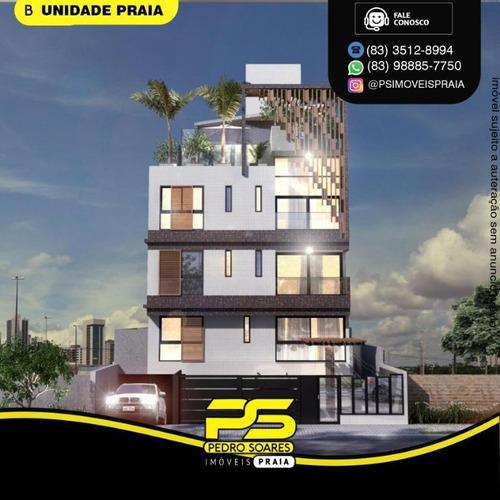 Apartamento Com 2 Dormitórios À Venda, 54 M² Por R$ 279.000 - Bancários - João Pessoa/pb - Ap4796
