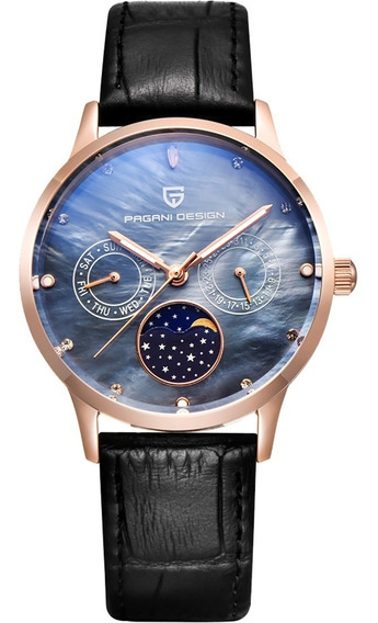 Pagani Design Moon Phase Black Rose Madre Perla B Diego Vez