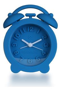 Reloj Despertador Azul Rubberchic