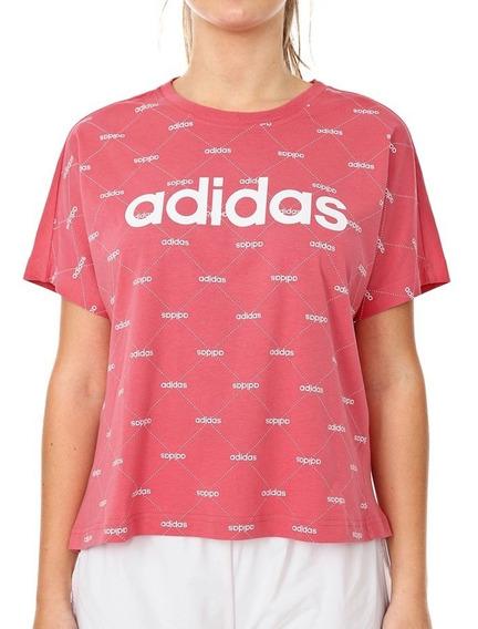 Camiseta adidas Feminina Fav